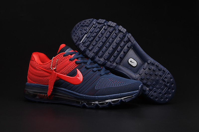 Air Max FREE SHIPPING Cheap Air Max 2017 Red Navy Blue